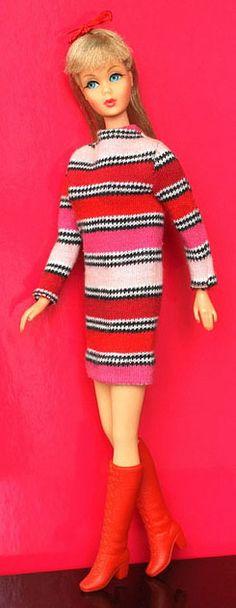 Twist 'n Turn Barbie (1967-1968) in GROOVY GET-UPS #1270 (1967)