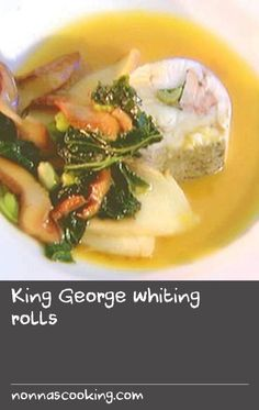 """King George whiting rolls 