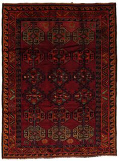 Ancien Persian carpet