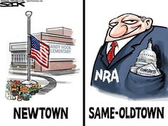 Until we vote out the republican roadblocks to a better society we will have corporations determining our future. More guns from the gun industry, more pollution from the oil industry and hundreds of millions in campaign money from the Koch industries to buy republican loyalty.
