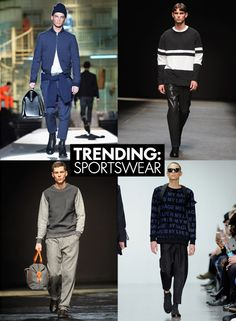 Trend Report: Sportswear >> Get the article