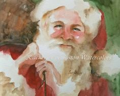 Santa | Watercolor