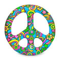 Details About Bigmouth Inc Peace Sign Inflatable