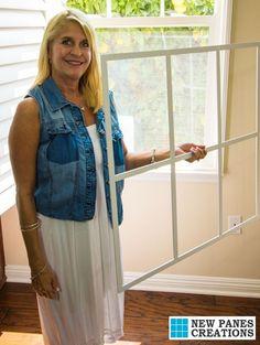 Same Window New Outlook Diy Window Treatments Grids