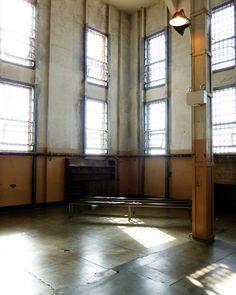 The library at Alcatraz in San Francisco, CA.