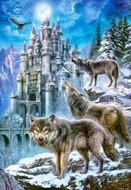 Wolf castle.