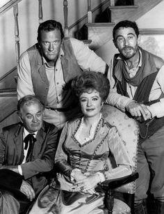 The cast of Gunsmoke