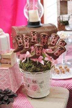 """Photo 43 of 43: Cowgirl Chic / Birthday """"Howdy Folks! It's Rafaella's Cowgirl Chic Birthday Party!"""" 
