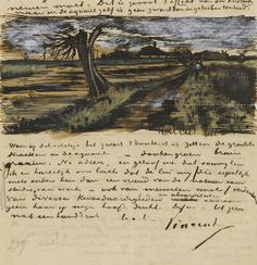 Download Hundreds of Van Gogh Paintings, Sketches & Letters in High Resolution | Open Culture