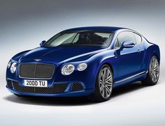 2013 bentley continental gt speed. I really like this car!!