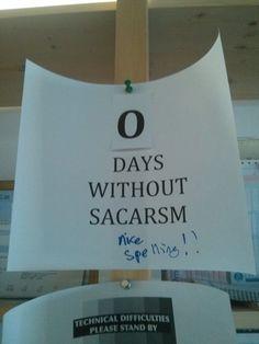 Sacarsm at the office - Imgur