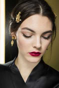 As she's honoured at the CFDA Awards, look back at the make-up artist's most memorable catwalk beauty looks