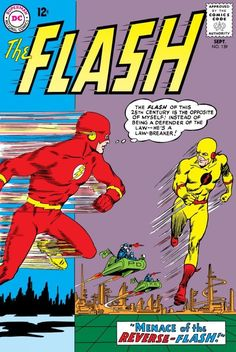 The Flash #139 (1963), cover by Carmine Infantino