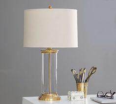 Hurricane Brass Lamp Base