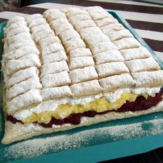Jóság szelet Sweet Cookies, Cake Cookies, My Recipes, Cooking Recipes, Hungarian Recipes, Cakes And More, Hot Dog Buns, Sandwiches, Food And Drink