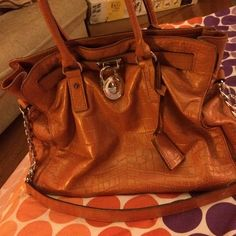 Mk handbag rare New worn few times very gently used excellent condition, willing to trade!!!! Trade value higher Michael Kors Bags