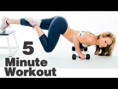5 Minute Workout #56 – ABS || Workout Breakdown  1. Knee hugs x 10  2. Flying burpee x 5  3. Plank jack x 10  4. Bird dog x 10 || Zuzka Light
