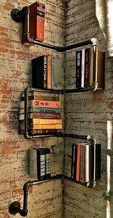 Risultati immagini per libreria con tubi idraulici