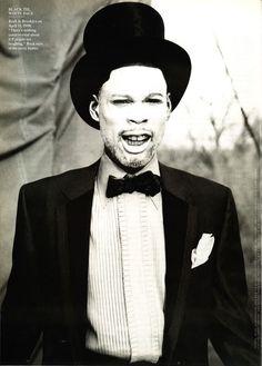 Chris Rock by Annie Leibovitz for Vanity Fair August 1998