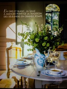 Very french...image source campagne decoration magazine