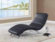 Global Furniture Relax Chaise GL-R820-B-CHS