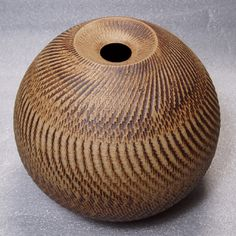 Shigeo Shiga, Chattered vessel.   Not slipware, but couldn't let this one go by without pinning it.