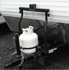 Arvika Travel Trailer A-Frame 2 Inch Receiver: The Arvika Travel Trailer 2 inch receiver gives you a 2 inch receiver over top of your propane tanks on