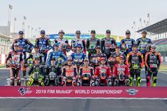 MotoGP rider lineup at Qatar GP High-Res Professional Motorsports Photography Motogp, Marc Marquez, Ducati, The Doctor, Valentino Rossi 46, Sepang, Vinales, F1 News, Motorcycle News