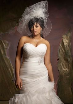 Vestido de Noiva Plus Size Corte Sereia - Dress for curvy plus size bride