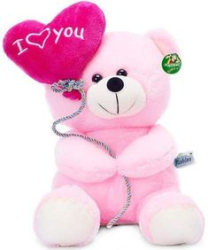 Top 10 Cute Pink Teddy bear Images, Greetings, Pictures for Whatsapp-bestwishespics Cute Teddy Bear Pics, Teddy Bear Images, Teddy Bear Pictures, Teddy Bear Toys, Teddy Day, Big Teddy, Teddy Bear Online, I Love You Balloons, Bear Wallpaper