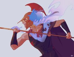 Achilles and Patroclus in War Music - Logue's Homer - King- moment 3 Percy Jackson, Greek And Roman Mythology, Greek Gods, Achilles And Patroclus, Lore Olympus, Hades And Persephone, Fanart, Heroes Of Olympus, Rick Riordan