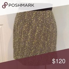 """Milly Skirt, Wear endlessly!  Size 6, NWT Zipper back.  18"""" flat. Milly Skirts"""