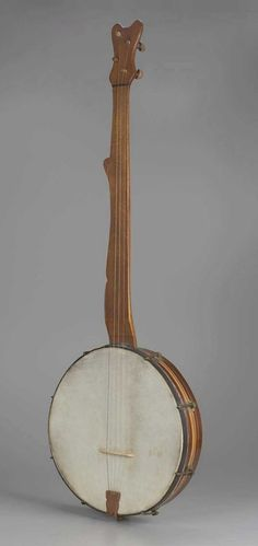 Banjo    1850-1860, America    The Museum of Fine Arts, Boston