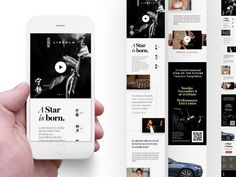 A star is born by Mauricio Estrella #Design Popular #Dribbble #shots