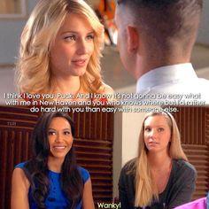 #Glee Season 5x13, Quick, take 2, wanky;)