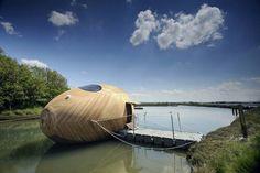 #house #boat #egg