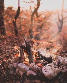 Get cozy 🔥 Tag a friend you'd sit around this fire with 😍 October Country, Autumn Cozy, Autumn Fall, Autumn Aesthetic, Hello Autumn, Fall Season, Fall Halloween, The Great Outdoors, Autumn Leaves