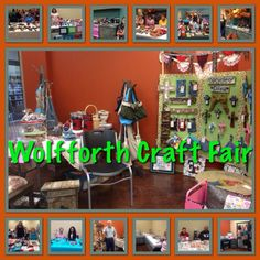 Our Wolfforth Craft fair was great.  Can't wait till next month.