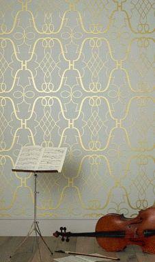 Stradivari - NCW4014-01 - Lombardia Wallpapers - Nina Campbell - Tapeter-tyger.se