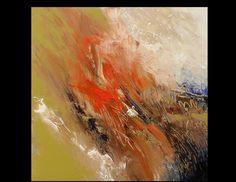 Abstract Original Earth color Acrylic by skyetaylorgalleries, $325.00