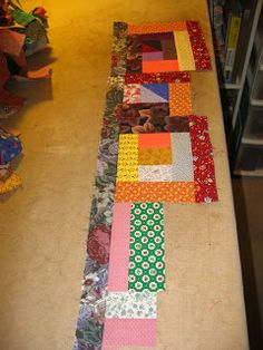 Now that I've finished with my orphan tops I'm back to making Crumb Caos blocks. I think I have enough crumbs and odd-ball width strips to m...