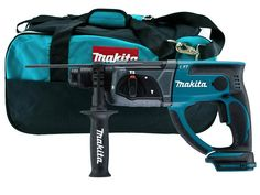Makita DHR202LXT400BAG 18v SDS Plus Rotary Hammer Bare Unit and Bag