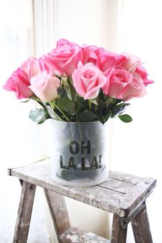 Oh la la! Floral inspiration #TOMSwedding