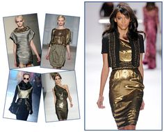 Fashion trend for Fall/Winter 2013-14: Metallic