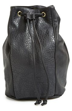 Free shipping and returns on Sole Society 'Nora' Faux Leather Backpack at Nordstrom.com. With its just-right size, soft, durable construction and adjustable straps, this backpack from Sole Society is easy to throw over your shoulder and go—and the textured faux leather and sleek, minimalist hardware make it as stylish as it is versatile.