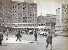 Berlin, Alexanderplatz im  Frühjahr 1935.