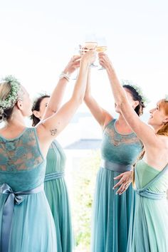 Gelique Daisy and Edith dresses worn by these beautiful bridesmaids. A stunning combination of tulle and lace. Bridesmaids, Bridesmaid Dresses, Wedding Dresses, Fabric Combinations, Compliments, Daisy, Tulle, Couture, Elegant