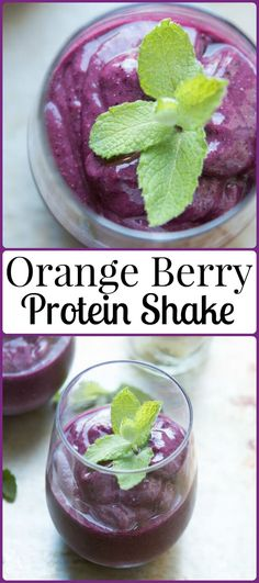 Did you know that oranges can help you to have a happier and healthier day? Our bright orange berry protein shake proves it! via @ohsweetbasil