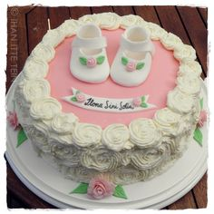Cake for a Ilona`s christening.