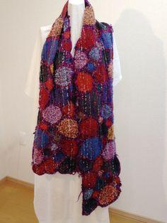 2014 ストール マフラー | 作品集 Fibre Art, Fabric Scraps, Kimono Top, Textiles, Tops, Women, Fashion, Moda, Fashion Styles